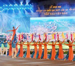 Khai mạc Năm du lịch Quốc gia Lào Cai - Tây Bắc 2017